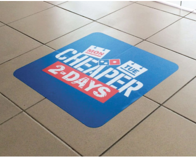 Laminated Floor Graphics