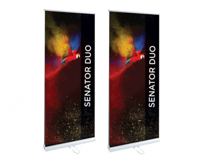 Budget Double Sided Roller Banner Stand