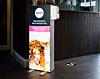 Freestanding TFS Lightbox Hand Sanitiser