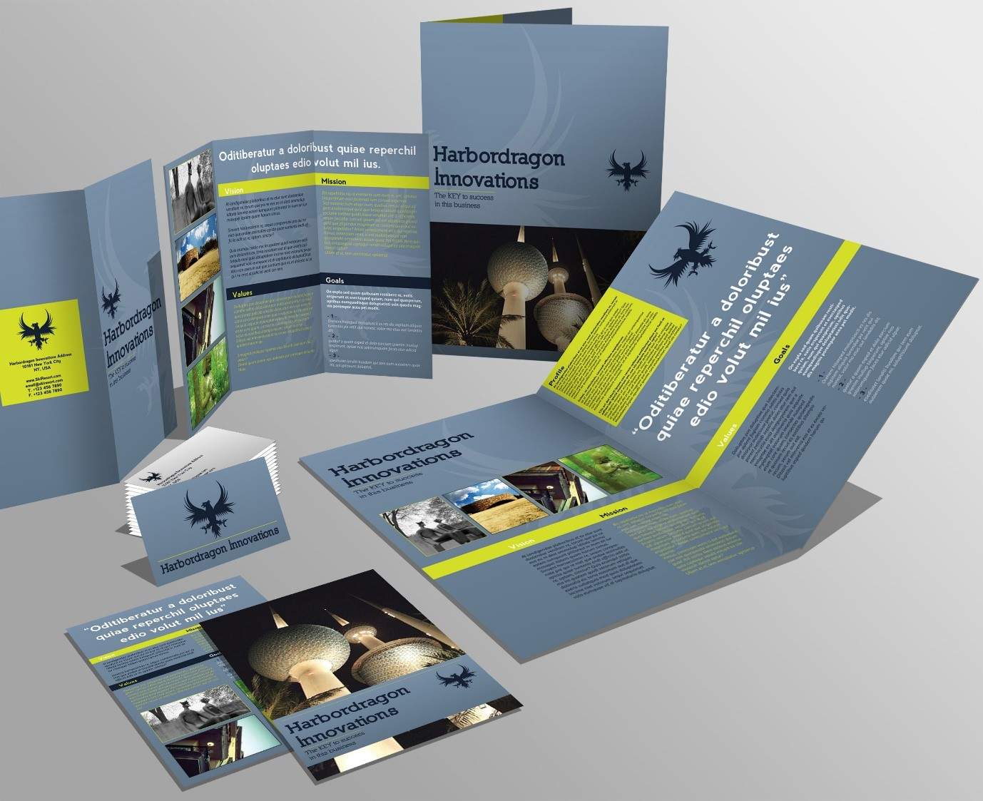 How to create a company brochure that sells your business